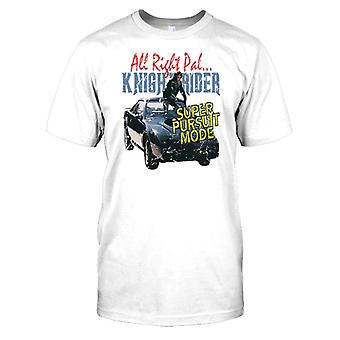 Knight Rider - mode Poursuite Super T Shirt