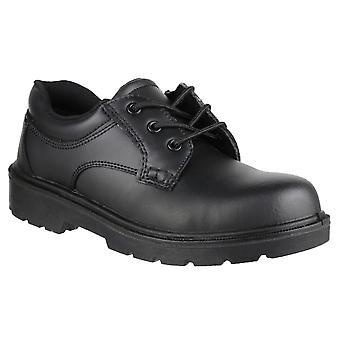 Amblers Mens FS41 sikkerhet Gibson stål tå skinn Oxford skoen S1-P-SRC