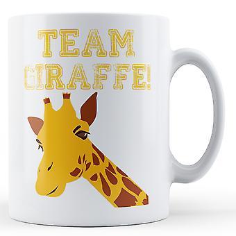 Team giraf - trykte krus