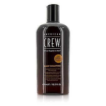 American Crew Men Daily Shampoo (for Normal To Oily Hair And Scalp) - 450ml/15.2oz