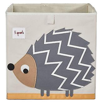Box folding fabric Hedgehog toy store