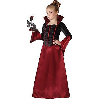 Kinder kostuums kinderen vampier meisje fancy jurkje
