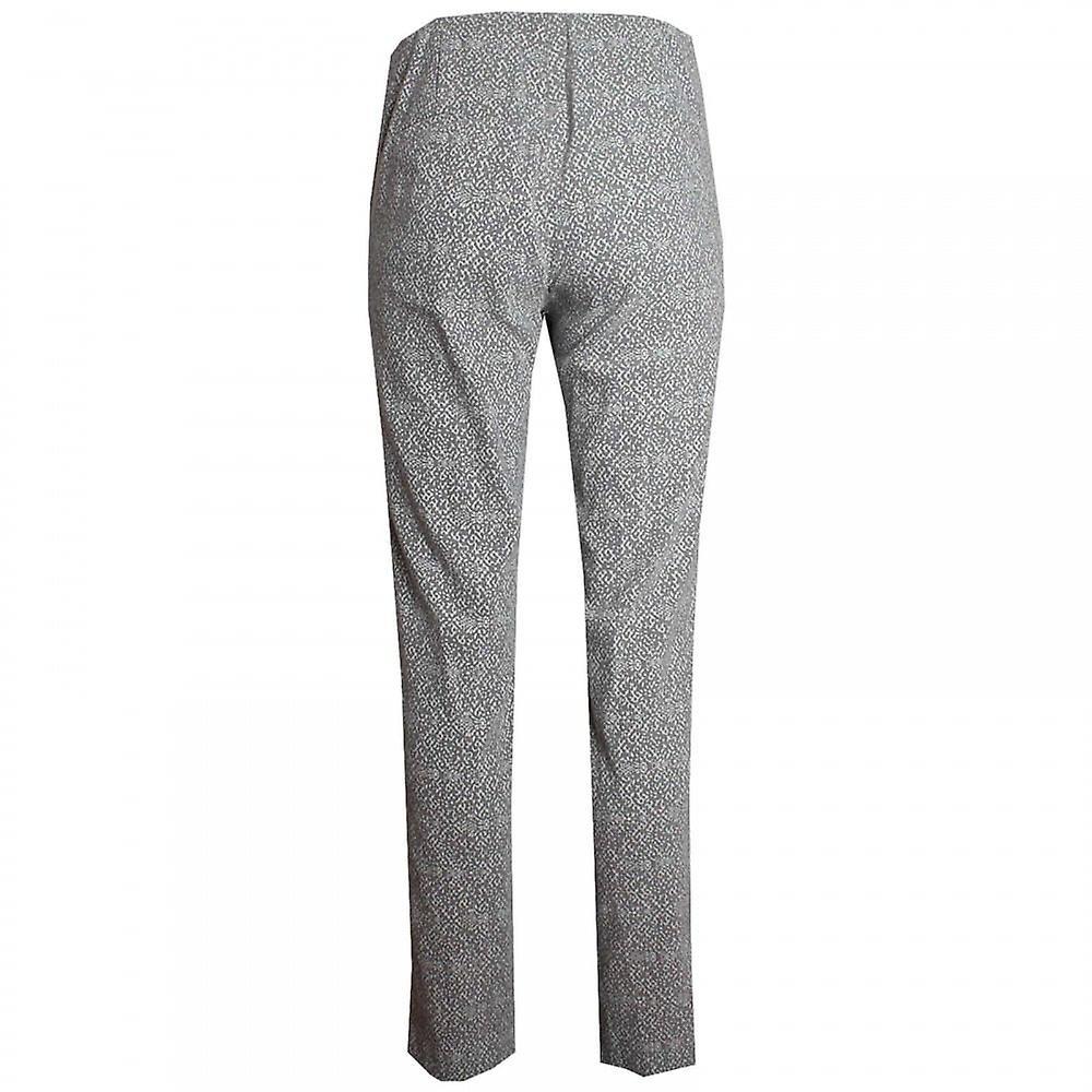 Betty Barclay imprimé pantalon classique jambe droite JF6AGB
