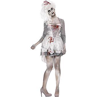 Zombie Georgian Kostümü, İngiltere 8-10