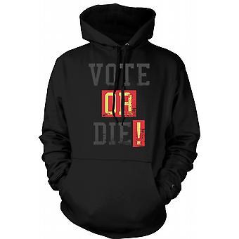 Kids Hoodie - Vote Or Die - Funny South Park Inspired