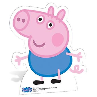 George Pig Lifesize Cartone Cutout / Standee - Peppa Pig