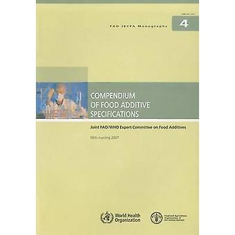 Kompendium med mat tillsatsen specifikationer - gemensamma FAO / WHO Expert Co