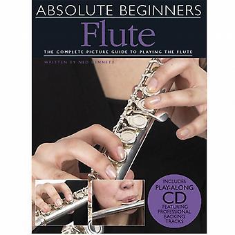 Absolute Beginners Flute Book & CD