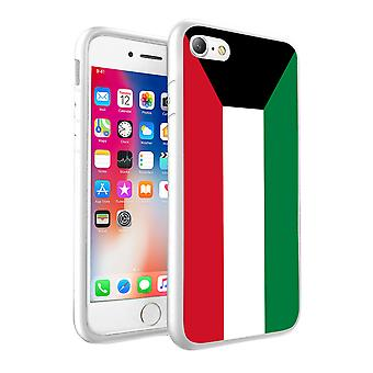 For Google PIxel 2 - Kuwait Flag Design Printed White Case Skin Cover - 0091 by i-Tronixs