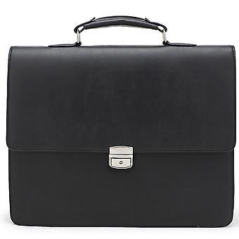 מזוודה מעור-מחזיק מסמכים-תיק עסקי-שחור