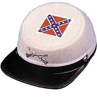Civil War Cap Econo Grey Lg For All