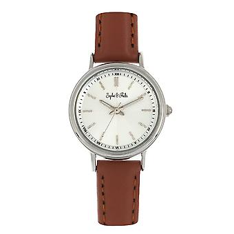 Sophie & Freda Berlin Leather-Band Watch - Brown
