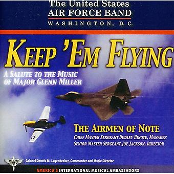 U.S. Air Force Airmen of Note - Keep 'Em Flying [CD] USA import