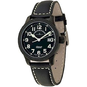 Zeno-Watch Herrenuhr NC Clou de Paris Automatic black 11554-bk-a1