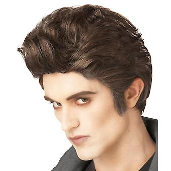 Love At First Bite Twilight Edward Vampire Count Dracula Mens Costume Wig
