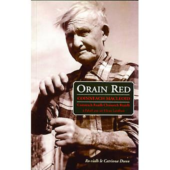 Orain Red by Kenneth Macleod - 9780861521791 Book