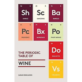 The Periodic Table of Wine by Sarah Rowlands - 9781419724084 Book