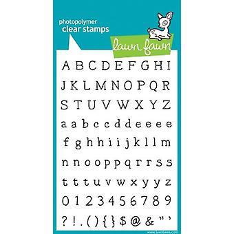 Gazon Fawn duidelijke postzegels Smitty ABC (LF321)