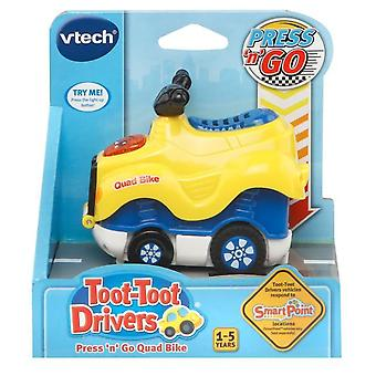 Vtech Toot-toot Drivers Press 'n' Go Quad Bike