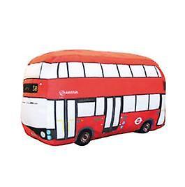 Licensed tfl™ london double decker plush cushion (hrd-bus)