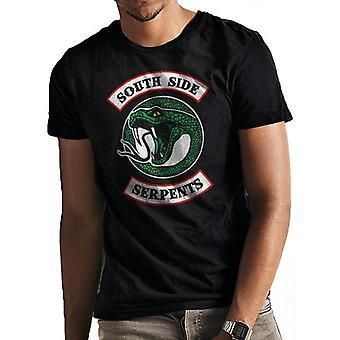 Riverdale Unisex Adults Southside Serpents Print T-Shirt