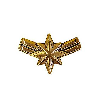 Pin - Marvel - Captain Marvel Logo Zinn Revers neu 69011