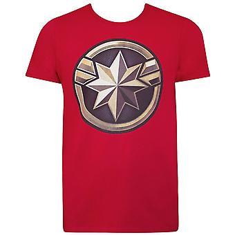 Kapteeni Marvel Movie logo miesten ' s T-paita