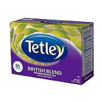 Tetley britiske Blend Premium svart teposer