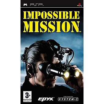 Impossible Mission (PSP) - New