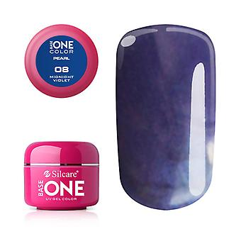Base one-Pearl-Midnight Violet 5g UV Gel