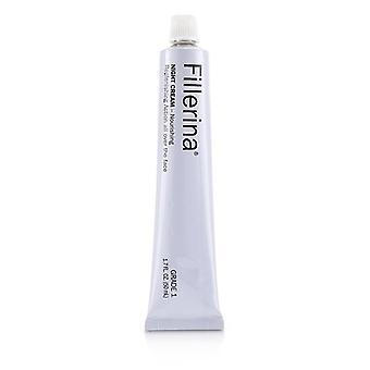 Fillerina Night Cream (nourishing) - Grade 1 - 50ml/1.7oz