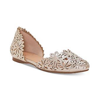 INC International Concepts Womens Cherilyn Fabric Almond Toe Ballet Flats