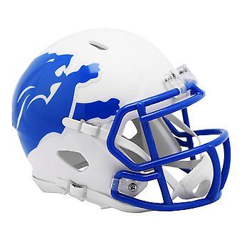 Casco de fútbol Riddell Speed - NFL AMP Detroit Lions
