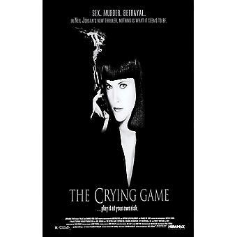 لعبة البكاء (واحد من جانب العادية) (1992) ملصق السينما الأصلي