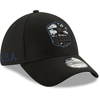 New Era 39Thirty Cap Salute to Service Dallas Cowboys