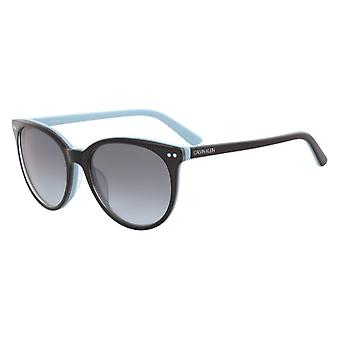Calvin Klein CK18509S 004 Black-Light Blue/Grey Gradient Sunglasses
