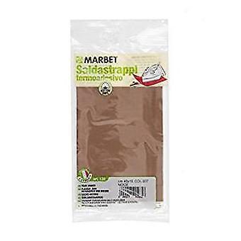 Marbet MB120.007 | Cotton Mending Fabric | Iron-On | 40 x 15cm | Walnut