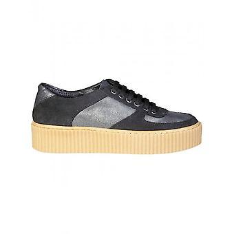 Ana Lublin - Shoes - Sneakers - CATARINA_NERO - Women - black,dimgray - 41