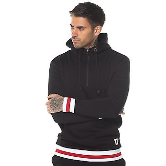 11 Degrees 11d Apollo Quarter Zip Hoodie Black