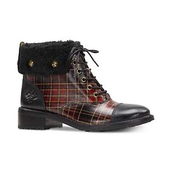 Patricia Nash Womens lia 2 Leather Closed Toe Ankle Fashion Boots