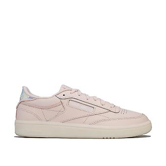 Womens Reebok Classics Club C 85 Trainers In Pale Pink / WhiteClassic