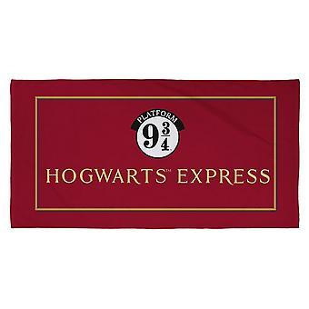 Harry Potter Hogwarts Express Platform 9 and 3/4 Towel