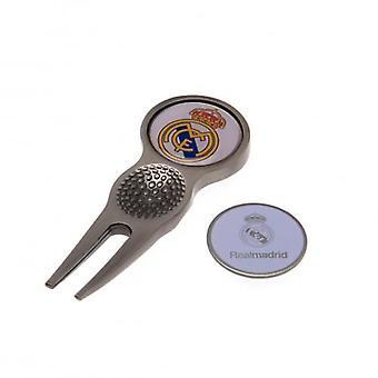 Real Madrid Pitchgabel und Markierung