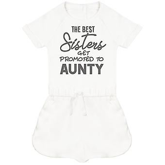 The Best Sisters Get Promoted To Aunty Baby Playsuit