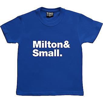 De souris et d'hommes Line-Up Royal Blue Kids-apos; T-Shirt