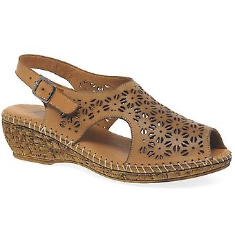 Extrafit Dial Womens Punched Detail Sandals