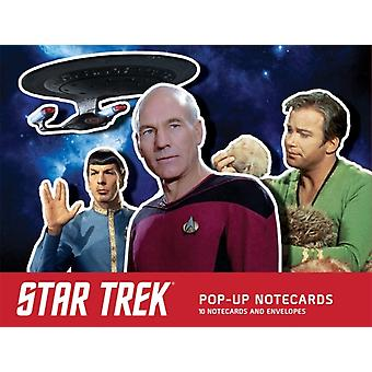 Star Trek PopUp Notecards  10 Notecards and Envelopes by Chip Carter
