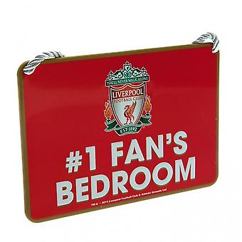 Liverpool FC virallinen makuu huone nro 1 tuulettimen merkki