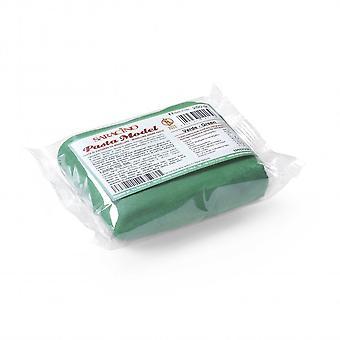 Pasta de modelagem saracino - Verde 250g - pacote bulk de 6