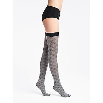 Wolford Granular Poison Patterned Hold Ups